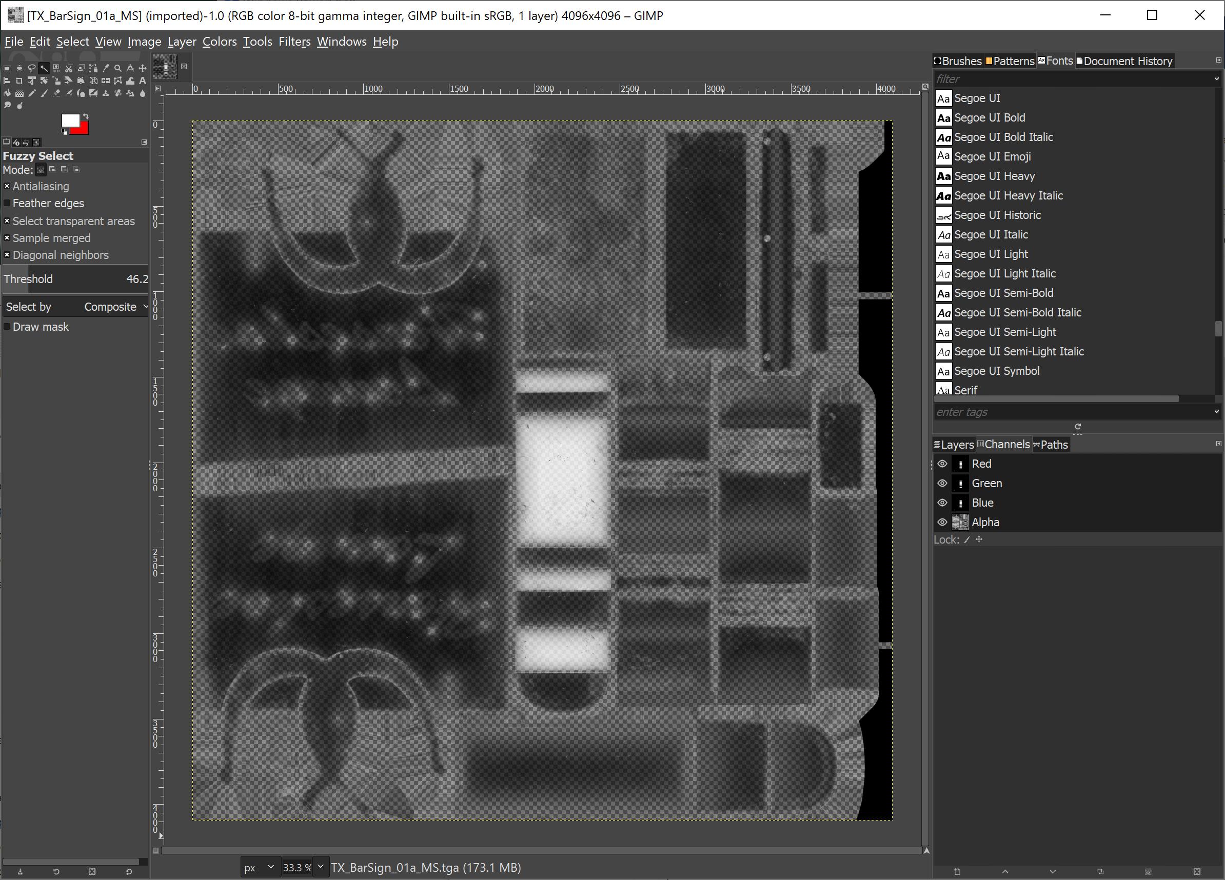 Image Export GIMP
