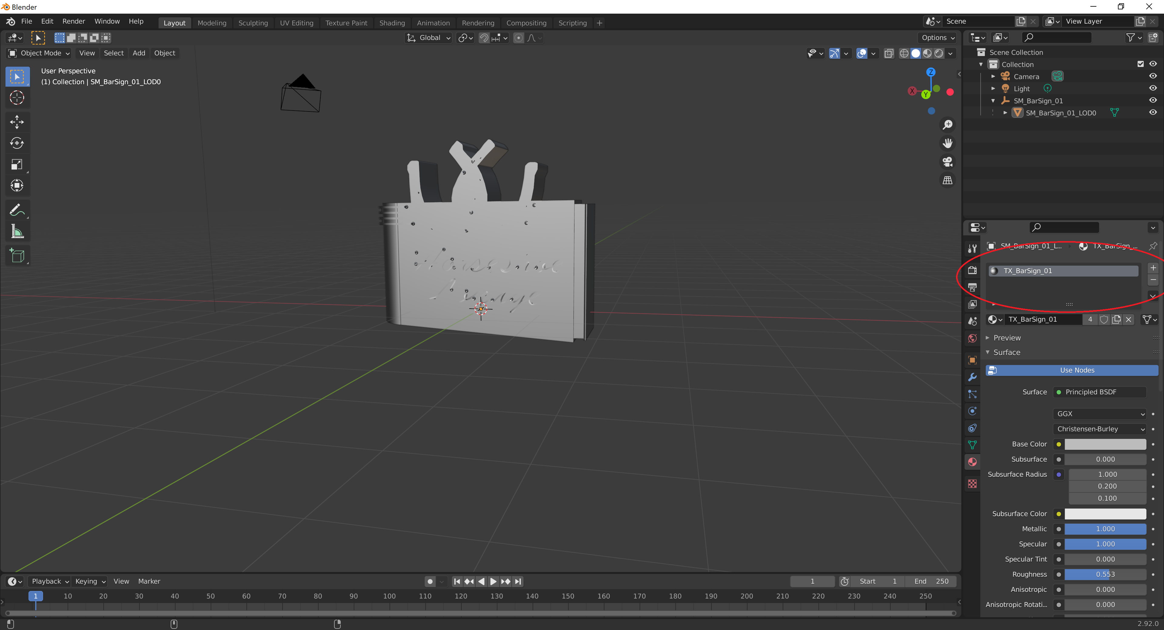 Remove materials in Blender